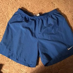 Nike polyester shorts